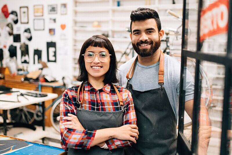 Champion small business owners